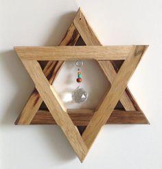 Handmade David Star, the special gift for Jewish family, by Offer Rubin, Jerusalem Chimes, Israel #israel #giftforjewish #spirtualgift