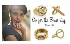 """""""BRASS RINGS"""" by kateboston on Polyvore"""