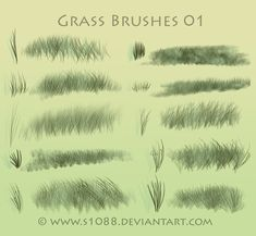Grass Brushes: http://browse.deviantart.com/?order=9=brushes=48#/d4ycvbo
