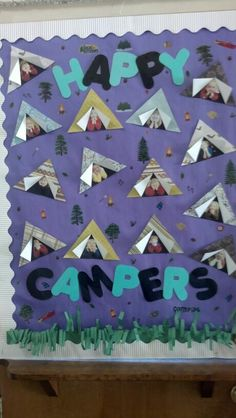 New Classroom Door Kindness Bulletin Boards IdeasYou can find Camping theme and more on our website.New Classroom Door Kindness Bulletin Boards Ideas Toddler Classroom, Classroom Door, Preschool Classroom, Classroom Themes, Classroom Activities, In Kindergarten, Classroom Projects, Camping Theme For Classroom, Preschool Camping Theme