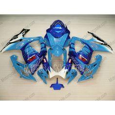 538.47$  Watch now - http://ali8ui.worldwells.pw/go.php?t=2044819567 - Motorcycle For Suzuki GSXR600/750 K6 2006 2007 06 07 Injection ABS Fairing Kits GSXR600 750 06 07 Blue