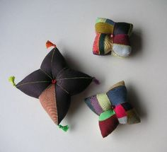 Korea patchwork pillow