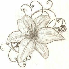 A tiger lily. It represents strength for women
