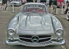 Best In Show Mercedes Benz 300SL Gullwing Photograph and greeting cards by Samuel Sheats on Fine Art America. #mercedes #mercedesbenz #300SL #mancave