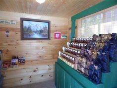 416 Sq. Ft. Whimsical Tiny Home on 2.79 Acres for Sale (SOLD) Photo. House workshop and little store...dream...sigh