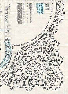 Irresistible Embroidery Patterns, Designs and Ideas. Awe Inspiring Irresistible Embroidery Patterns, Designs and Ideas. Chain Stitch Embroidery, Cutwork Embroidery, Hungarian Embroidery, Learn Embroidery, Vintage Embroidery, Embroidery Stitches, Embroidery Patterns, Stitch Head, Embroidery Techniques