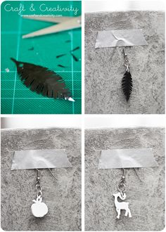 Shrink plastic jewelry - by Craft & Creativity