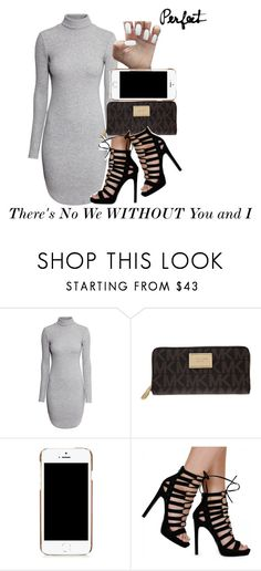 """""""Song: Jeremih- Oui"""" by wateveruwant ❤ liked on Polyvore featuring H&M, MICHAEL Michael Kors and Moschino"""