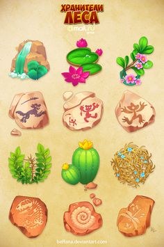Forestkeepers icons pack 3 by Beffana.deviantart.com on @DeviantArt