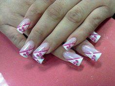 Uñas pink