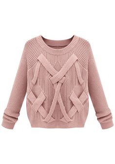 3D Criss Cross Knit  @LookBookStore