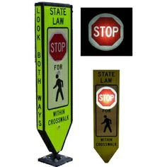 The Illuminated Pedestrian Messaging Center really makes this unit successful in low lit areas.