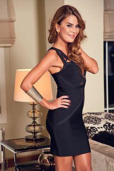 L'adore - Özlem Yıldız Selection  Siyah Elbise 7076-A %59 indirimle 69,99 TL Trendyol'da