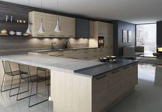 Sigdal kj�kken - Nordisk Room Interior, Kitchen Island, Furniture, Design, Home Decor, Kitchen Ideas, Kitchens, Images, Cuisine Design