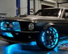Microsoft pimps out a Ford Mustang with awesome tech.