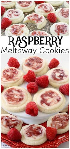 RASPBERRY MELTAWAY COOKIES | Cake Cooking Recipes