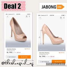 #sexysaturday #dealoftheday #2! Deal of the day Shop at @jabongindia for these amazing #peeptoe (#peeptoe ). Shop at: @jabongindia (website/App). Shoe Style: #Peeptoe.  Size: US 6 - US 13.  Color: #Beige #Blue #Black & #Pink.  Dress Style: #formals  #casual #Nightout & #Party  Heels: 5inch.  Price: RS 1995/- #shoeloverforlife #shoelover #shoes #shoeporn #shoegasm  #shoesaddict #shoelove #shoesforsale #shoe #shoefie #shoestagram #shoemaker #shoeaddict #shoesoftheday #sotd #theshoegirlAJ…
