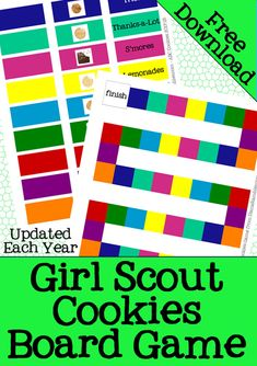 b7899a5ee22316 Girl Scout Cookies Game - Help your Girl Scout Troop learn their cookies  with this Girl