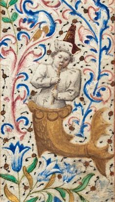 Book of Hours of Simon de Varie in 2 Parts illuminated medieval period 1455 AD