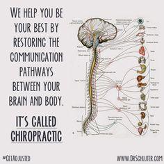 It's called Chiropractic! #getadjusted #chiropractic www.bidwell-chiropractic.com