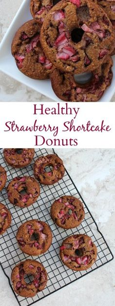 Healthy Strawberry Shortcake Donuts are a delicious breakfast option. Made with…