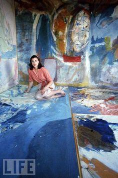 Art Party by Marieka Heinlen: Louis Morris & Helen Frankenthaler