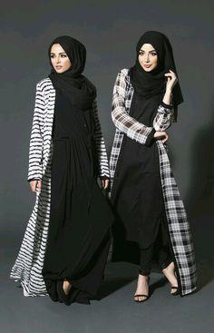 Modest way of wearing hijab with kimono – Girls Hijab Style & Hijab Fashion Ideas Hijab Fashion 2016, Abaya Fashion, Kimono Fashion, Modest Fashion, Fashion Dresses, Fashion 2018, Trendy Fashion, Fashion Ideas, Muslim Dress