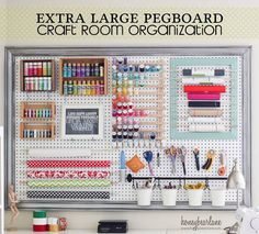 DIY All Things - Craft Room Organization Ideas
