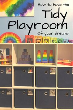 Are you tired of having a messy playroom? Here is a foolproof system for organizing your toys, toy storage ideas, how to set up a toy rotation, ways to label… Toddler Toys, Kids Toys, Baby Toys, Toy Bin Labels, Baby Toy Storage, Organizing Labels, Organizing Toys, Printable Organization, Toy Bins