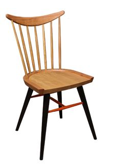 Stix - wooden frame dining chair available in a variety of colours