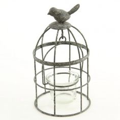 "Great shopping site! Cute crown things too!! Wholesale only!!  8"" BIRD CAGE CANDLE HOLDER"