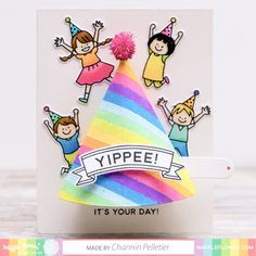 first birthday gifts Cool Birthday Cards, First Birthday Gifts, First Birthdays, Kids Cards, Cards Diy, Crafts For Kids, Diy Crafts, Flower Crafts, Flower Making