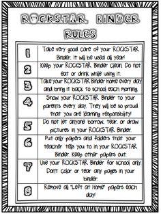 rockstar rules