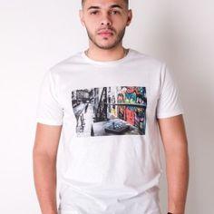T-Shirt Okizm Blanc Streets 19.90€