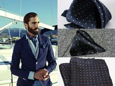 Be always A Stylish Gentleman with MDGRAPHY Pocket Squares! Buy yours here > http://finaest.com/designers/mdgraphy/lords-devils-canary-blue-yellow-polka-dot  #mdgraphy #finaest #pocketsquare #gentleman #menswear #accessory #polkadot #pochette #handkerchief #outfit #elegance