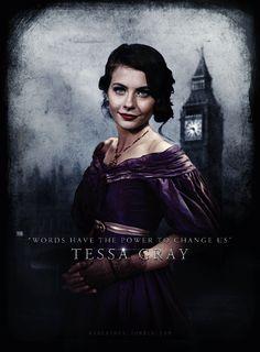 Theresa (Tessa) Gray- The Infernal Devices London Institute, Tessa Gray, Shadowhunters, Clockwork Princess, Saga, Lady Midnight, Will Herondale, Clockwork Angel, Cassandra Clare Books
