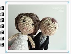 Ravelry: pontinhosmeus' amigurumi wedding day