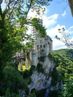 Lichtenstein Castle,  Germany Lichtenstein Castle, Germany, Mansions, House Styles, Travel, Home Decor, Viajes, Decoration Home, Room Decor