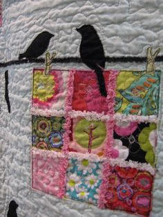 Applique Bird Quilt | Quilting Blog - Cactus Needle Quilts, Fabric and More: Bird On A Wire ...
