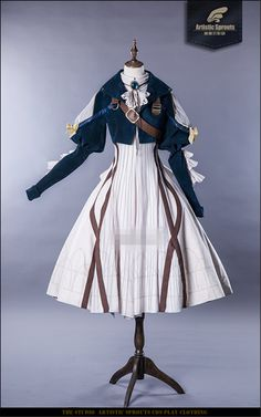 Japanese Cosplay Japanese Anime Violet Evergarden Cosplay Costume Daily Suits Hot Sale Dress(Shipped in May) - Lolita Cosplay, Cosplay Dress, Cosplay Outfits, Anime Outfits, Cosplay Costumes, Cool Outfits, Fashion Outfits, Anime Cosplay, Fashion Tips