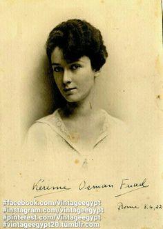 Princess Karema Fuad 1941 الأميرة كريمة فؤاد 1941