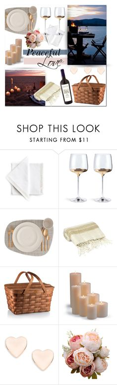 """""""A peaceful type of love"""" by rachelbarkho ❤ liked on Polyvore featuring interior, interiors, interior design, home, home decor, interior decorating, Far + Wide Collective, Frontgate and Ted Baker"""