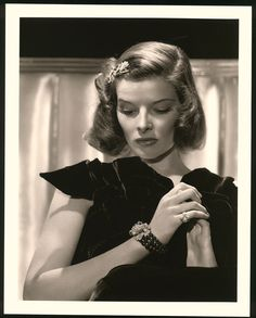 Katharine Hepburn by George Hurrell
