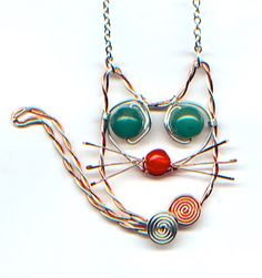 WireWorkers Guild: CAT Project - Much fun. #Wire #Jewelry #Tutorials