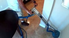 Las Vegas Tile and Grout Cleaning - May 2014 - Sample of how it gets done!