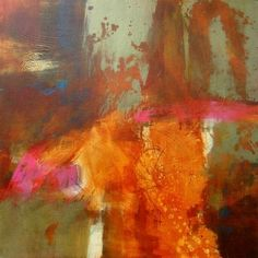 """Temptation"" Original abstract painting by Texas Contemporary Abstract Artist, Filomena de Andrade Booth"