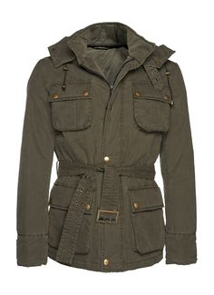 Army Coat J249 | Suitsupply Online Store