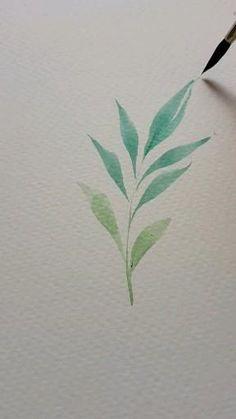 Watercolor Beginner, Watercolor Paintings For Beginners, Watercolor Art Lessons, Watercolor Art Paintings, Watercolor Projects, Watercolors, Painting & Drawing, Floral Watercolor, Art Drawings