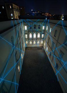 Light Works - Experimental Light Art 2011 #light #ephemeral #art #installation #architecture #arquitectura #efimera #arte #instalacion