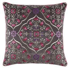 Cushion cover kas 45cm x 45cm gretta multi home decor cotton NOW ON SALE -  A
